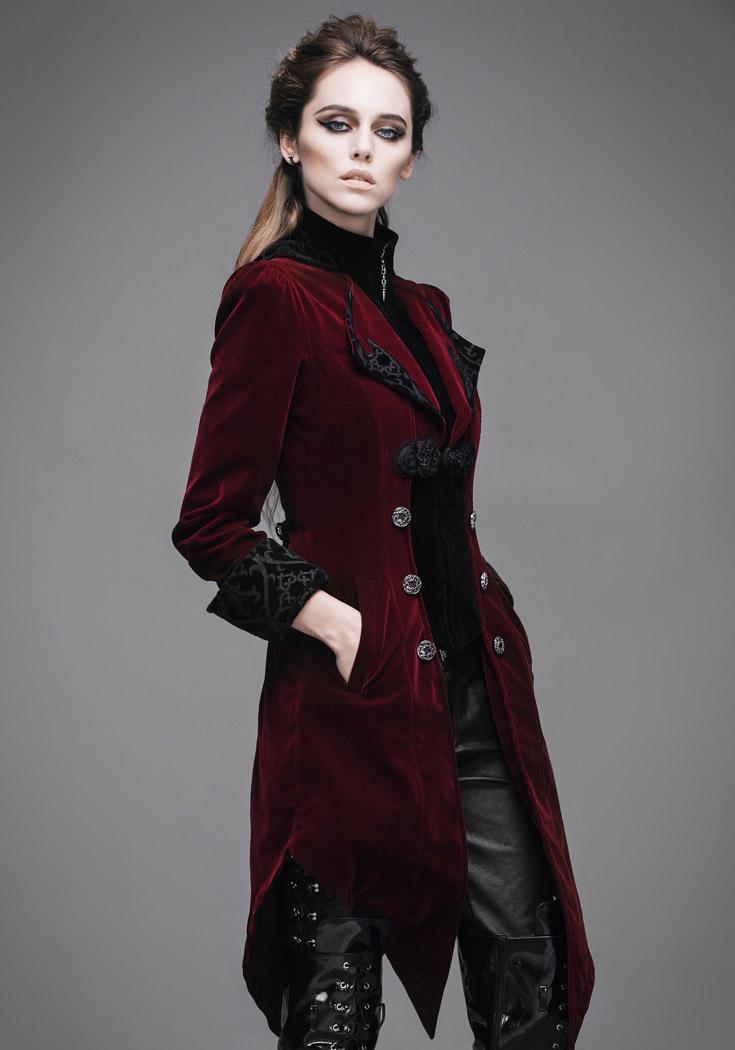 Veste noir velour femme